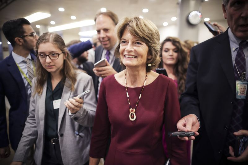 Sen. Lisa Murkowski is the chair of the Senate Energy Committee and likely to stay on in the post.