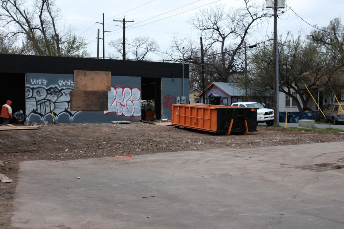 The site at 1401 E. Cesar Chavez