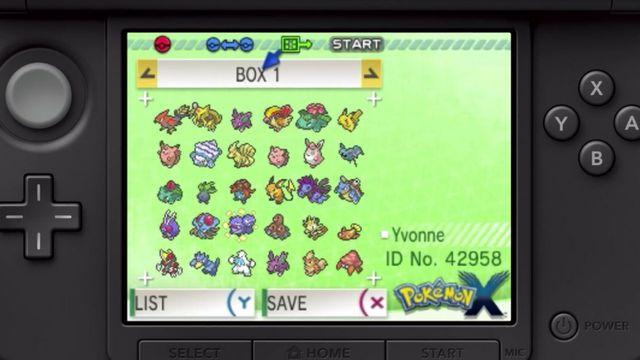 Pokémon Bank on a device