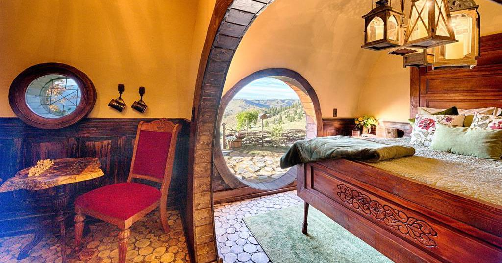 Rent This Very Authentic Looking Hobbit House Curbed