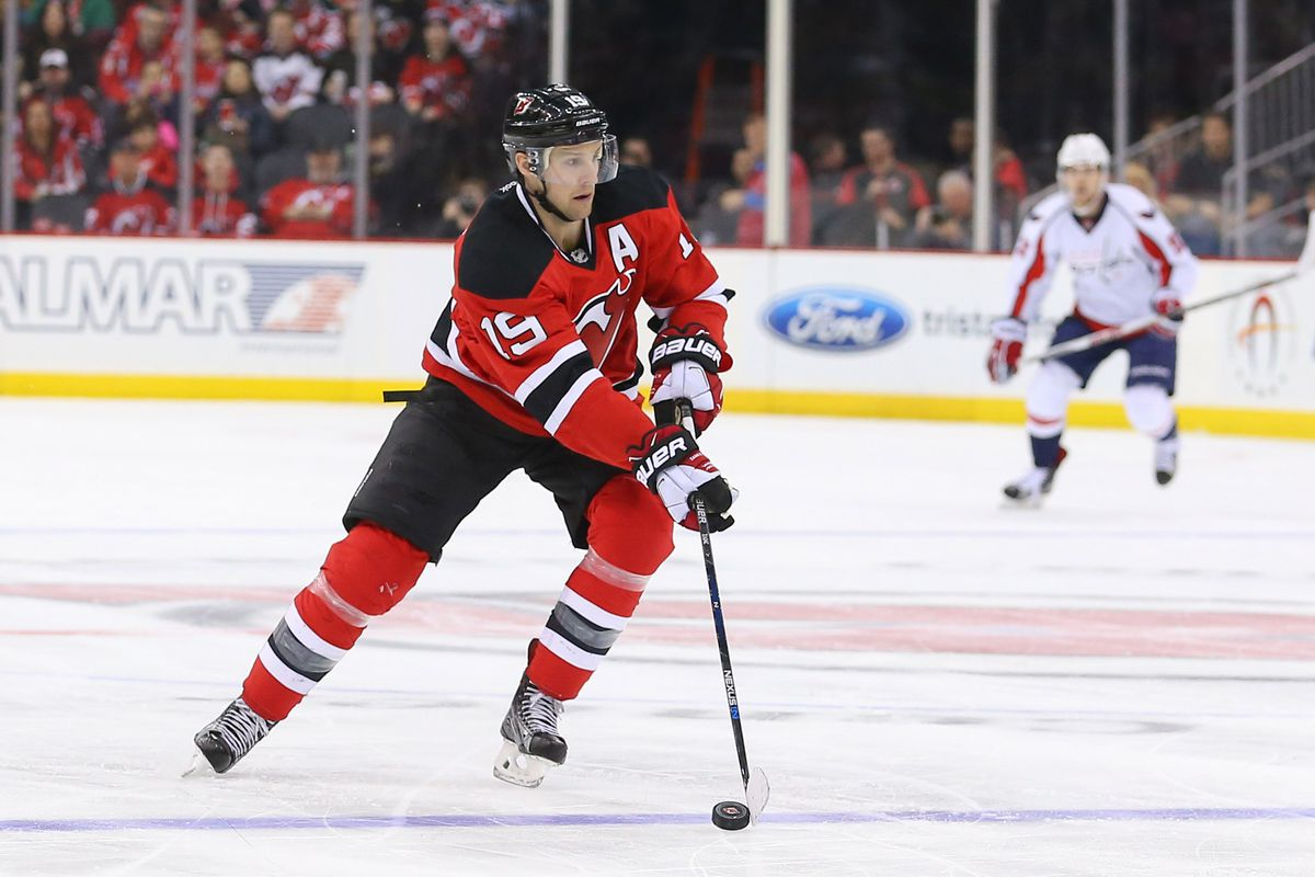 Travis Zajac may be part of the core now.  But for the future? With that contract? It's not so easy to see...