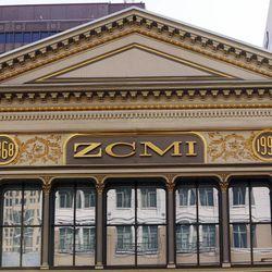 ZCMI facade, Wednesday, Aug. 24, 2011.