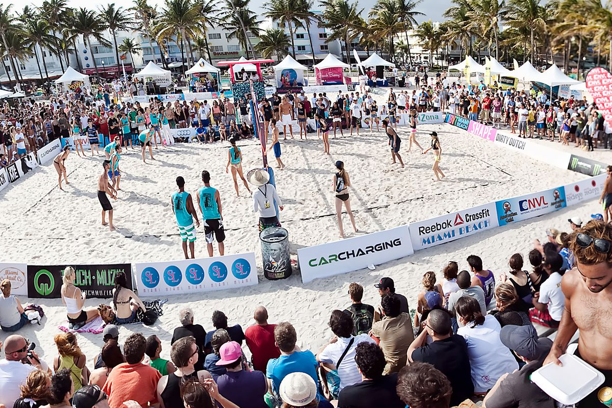 Photo: Le Sutra Model Beach Volleyball