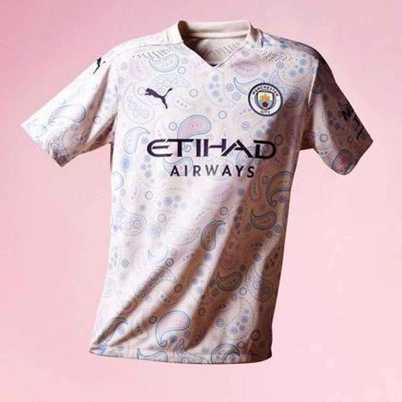 Manchester City Unveil Third Kit Bitter And Blue