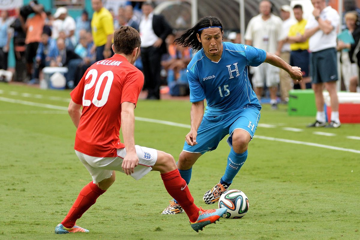 Former Buckeye Roger Espinoza will take the pitch today in Porto Alegre for Honduras against France