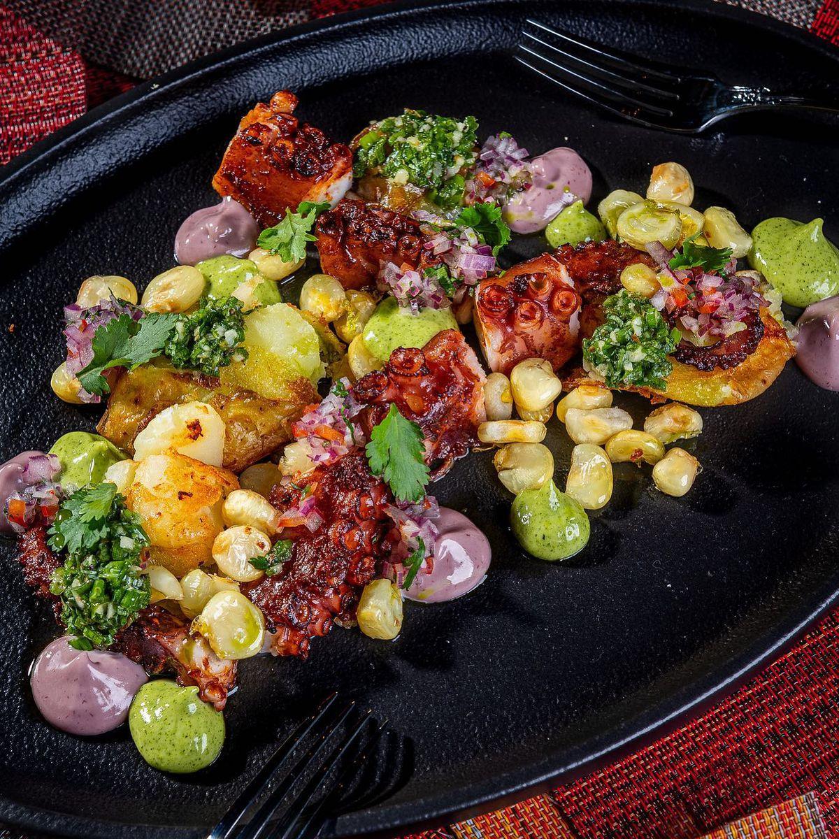 A Criollo octopus dish from Causa chef Carlos Delgado