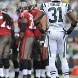 N.Y. Jets corner Antonio Cromartie