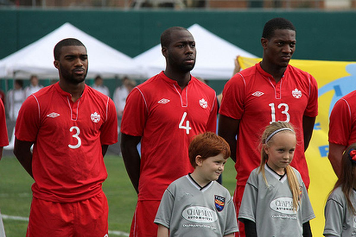 Canada will again rely on a young group of defenders against Costa Rica.