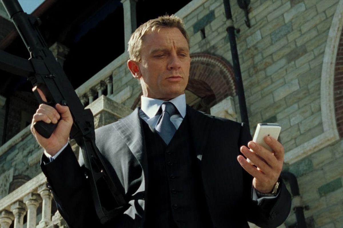 Daniel Craig as James Bond in Casino Royale
