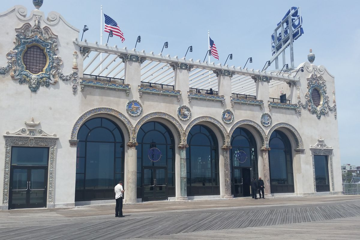 Coney island 39 s landmarked childs restaurant reopens after for American cuisine washington dc