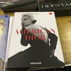American Dior book, $11.25 (was $75)