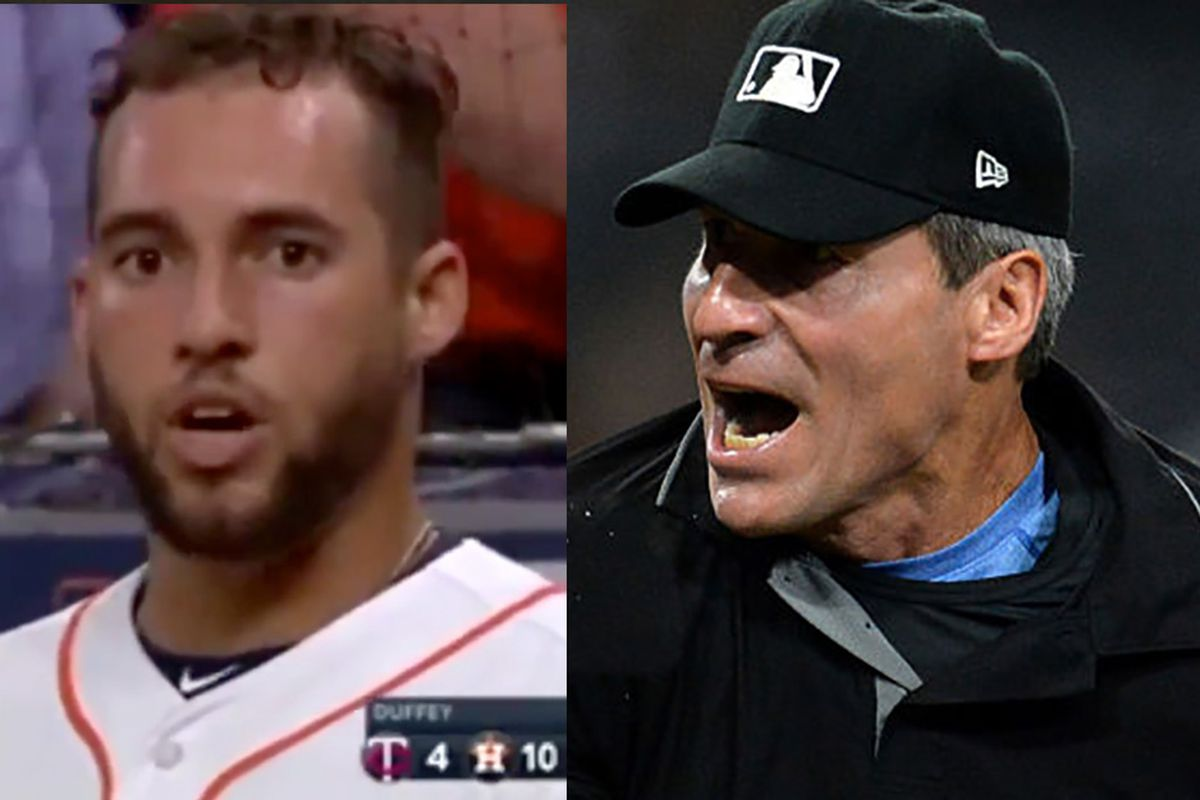 e39d019ade1 Exclusive  Astros  George Springer punished by MLB for anti-gay slur  directed at umpire