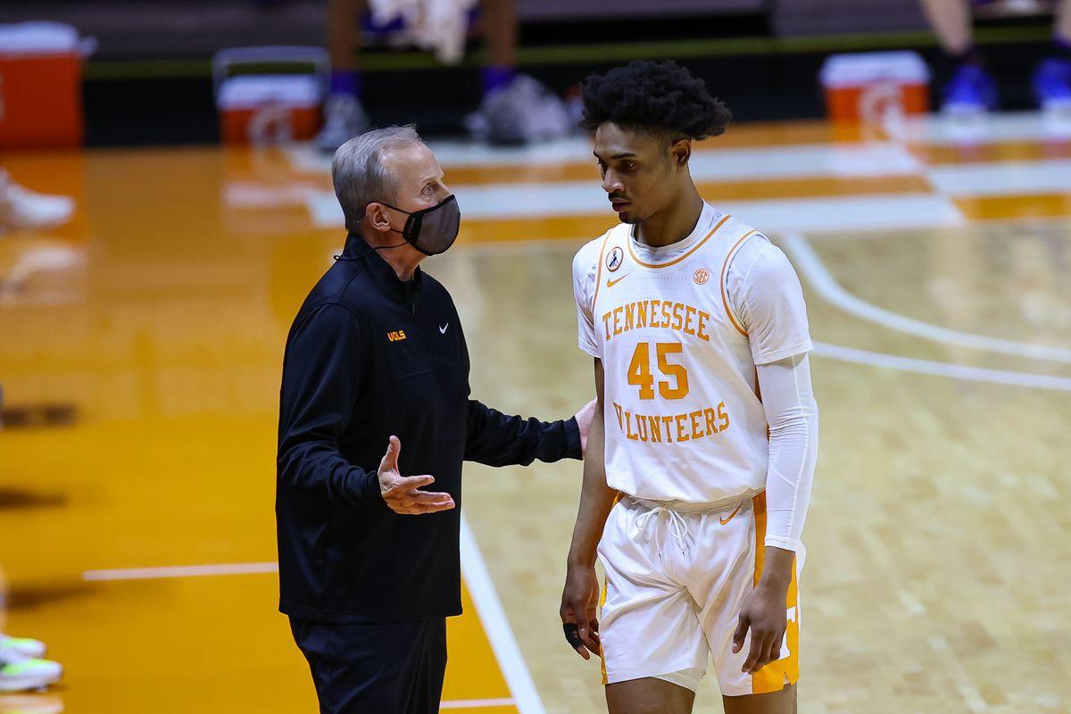 NCAA Basketball: Kansas at Tennessee