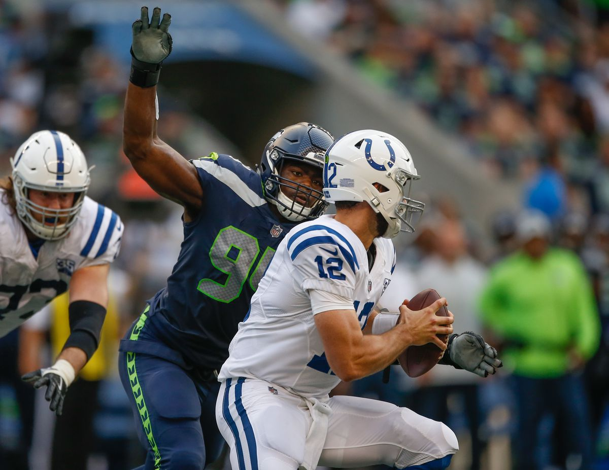Indianapolis Colts vSeattle Seahawks