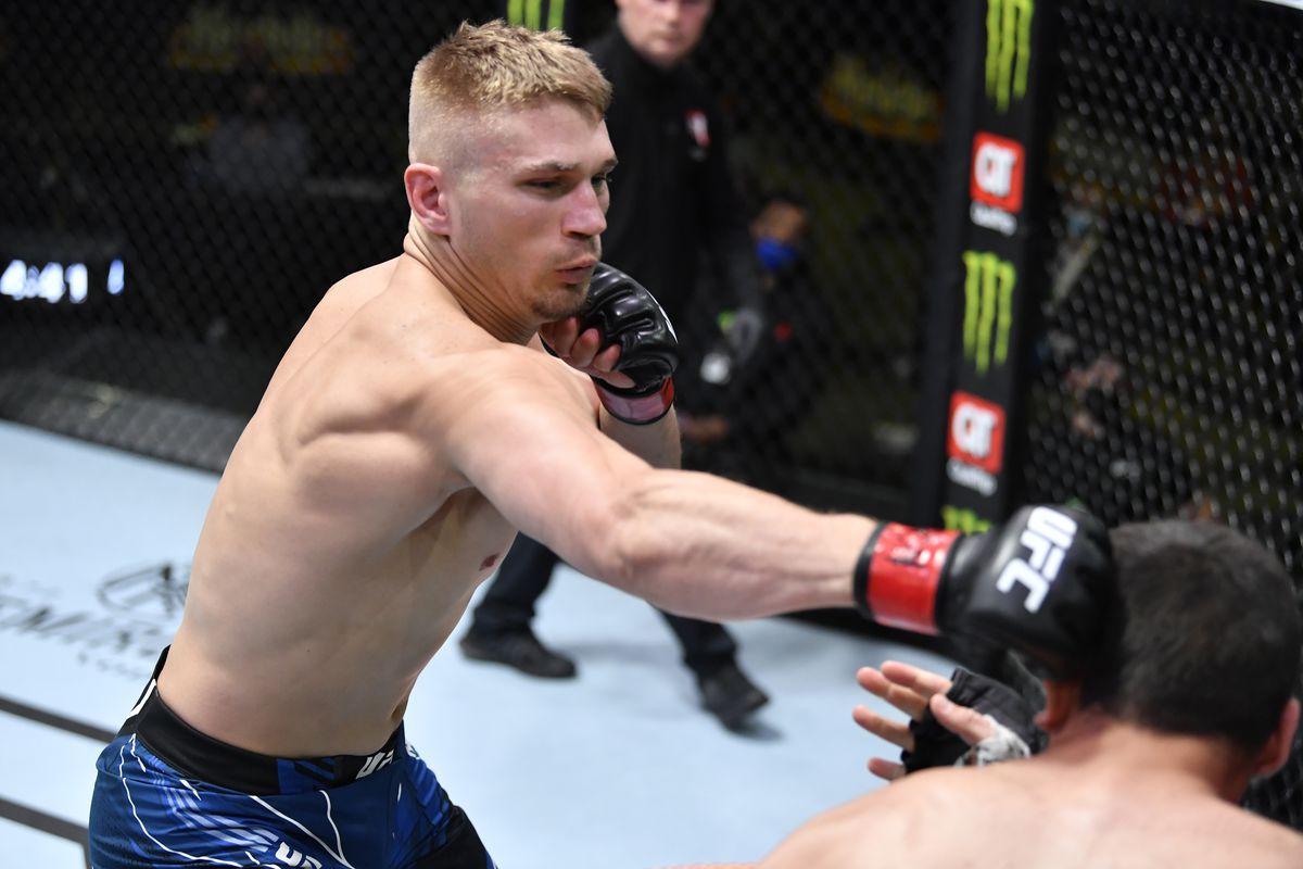 UFC Fight Night: Austin Hubbard v Bush