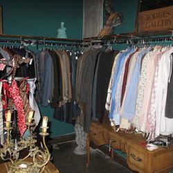 The menswear corner