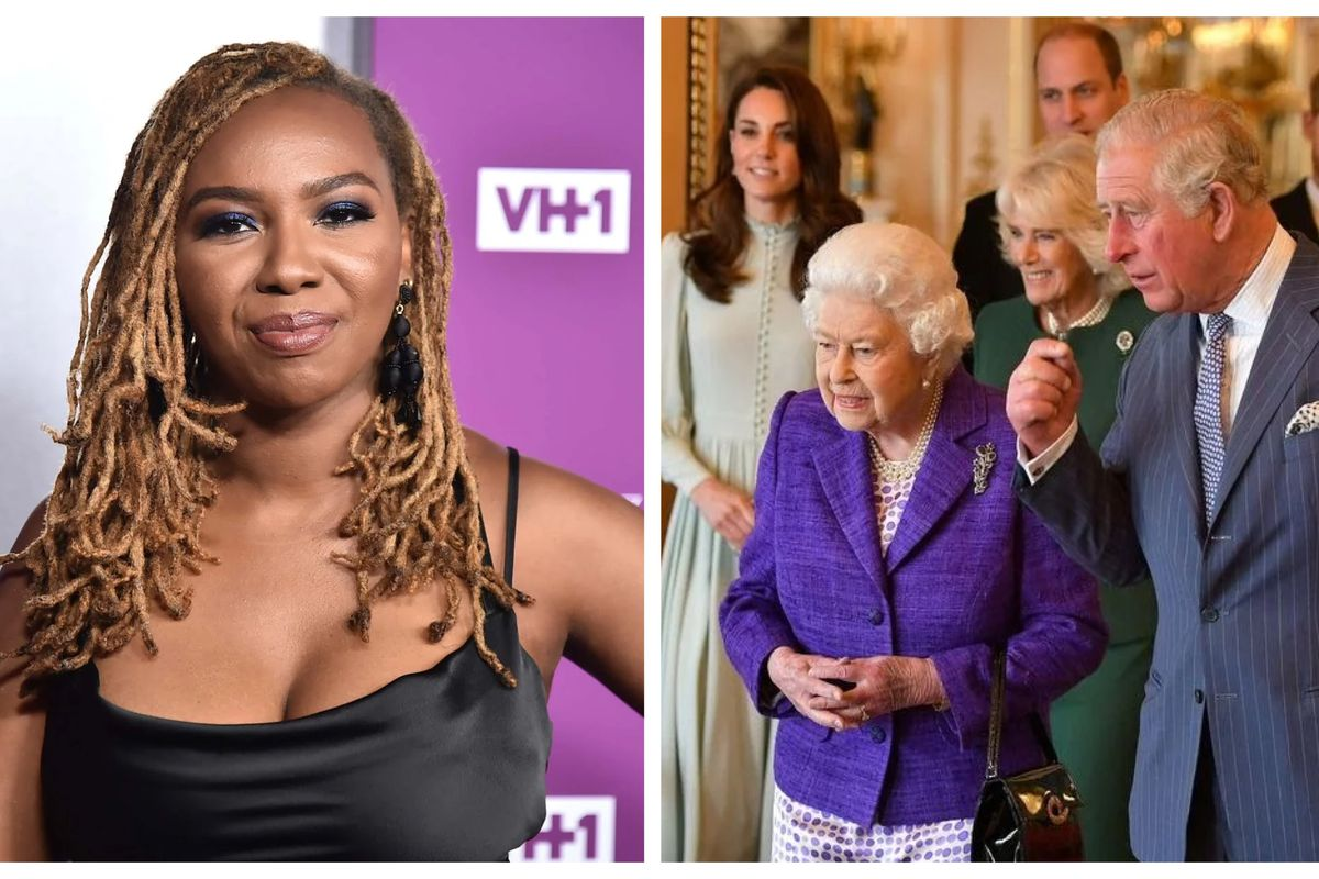 Opal Tometi and the Royal Family