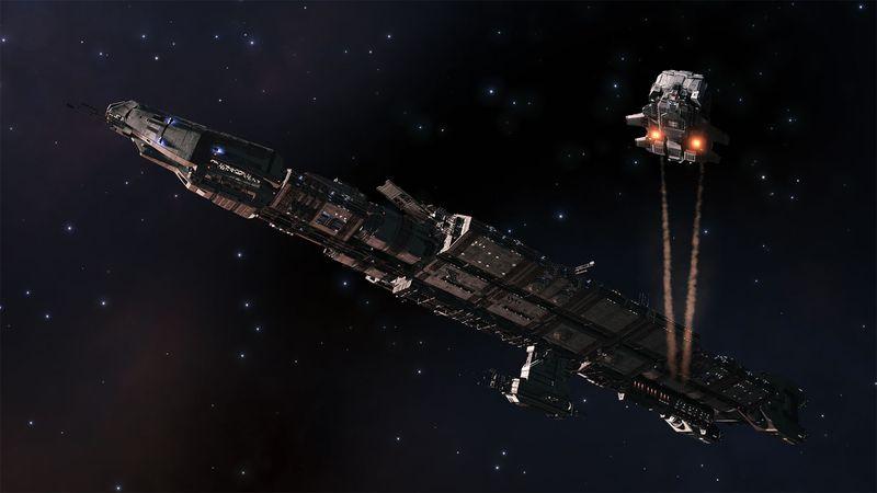 Elite Dangerous incluirá flotas de transporte, pero estas no serán baratas 3