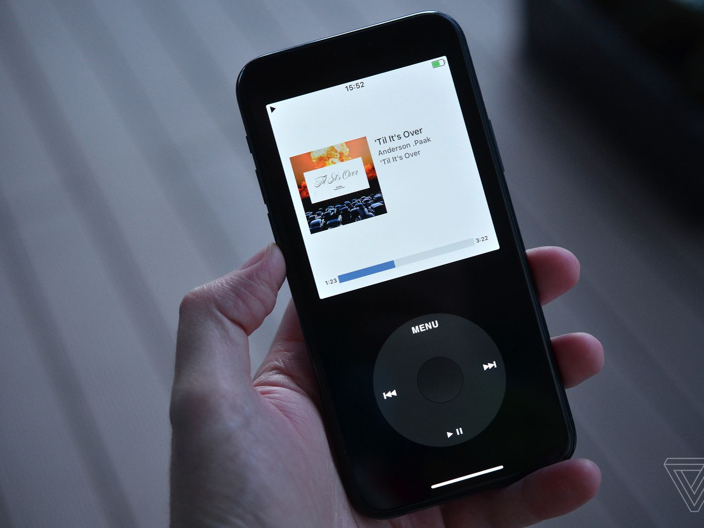 Rewound Is A New App That Turns Your Iphone Into An Ipod The Verge