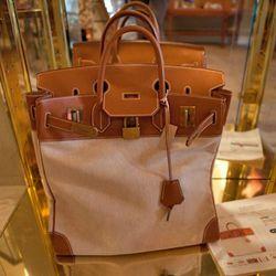 Hermes bag, around $6,000