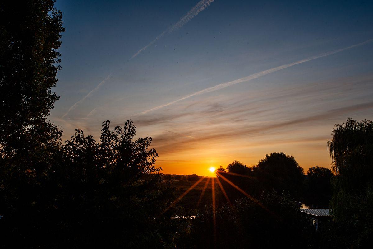 Beautiful Sunrise In Nijmegen