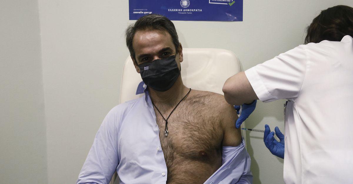 PSA: use capas para su cita de vacunación