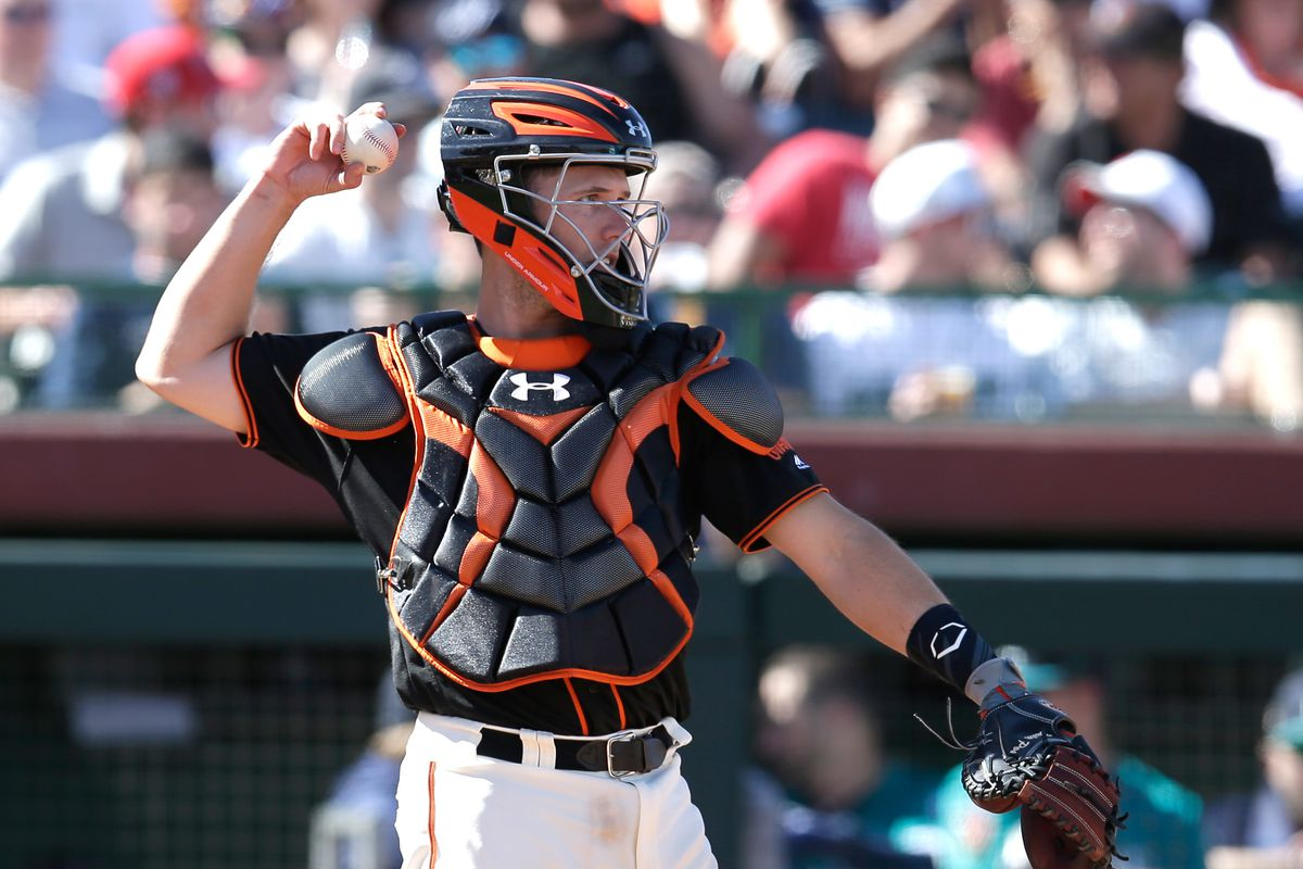 Buster Posey San Francisco Giants Spring Training Baseball Player Jersey