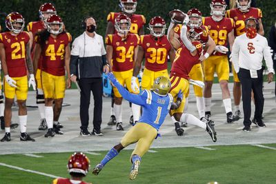 COLLEGE FOOTBALL: DEC 12 USC at UCLA