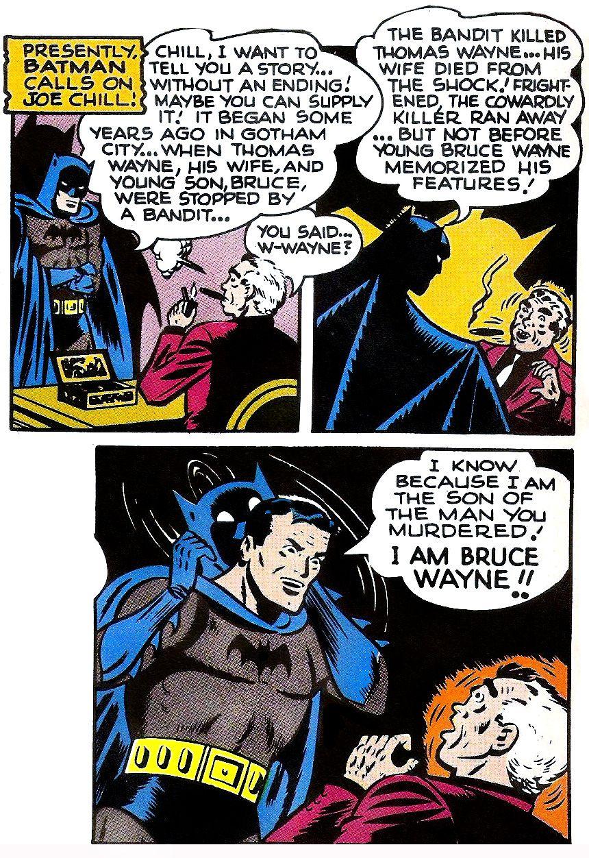 From Batman #47, DC Comics (1948).