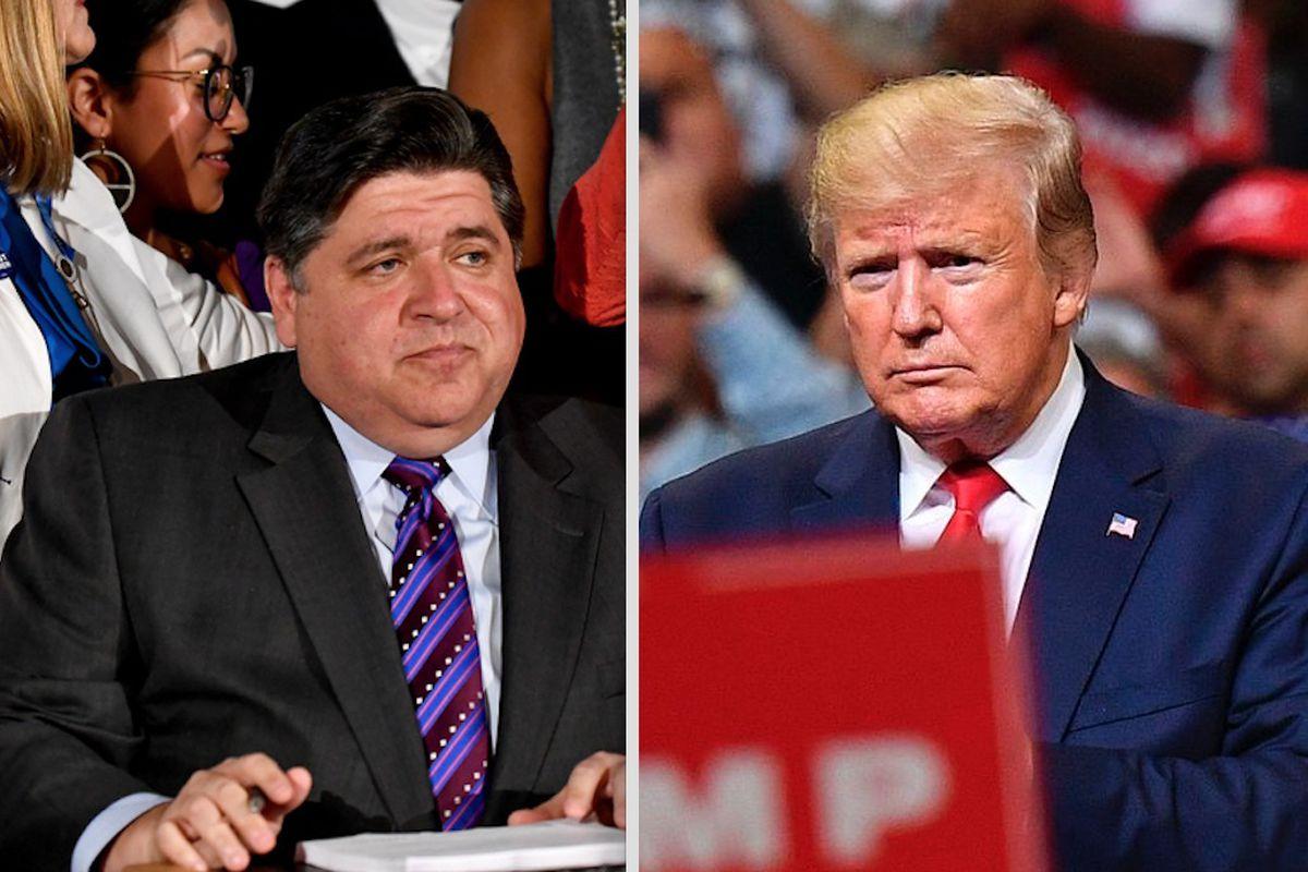 Gov. J.B. Pritzker, Mayor Lori Lightfoot vow to resist President Donald Trump, reject mass deportations of il…