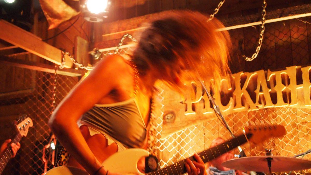 Sweet Spirit, playing in Pickathon's Galaxy Barn.