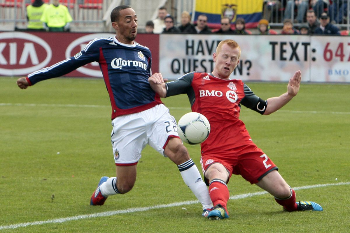 TORONTO, CANADA - MARCH 31: Smith: Works well in Chivas' midfield rotation (Photo by Abelimages/Getty Images)
