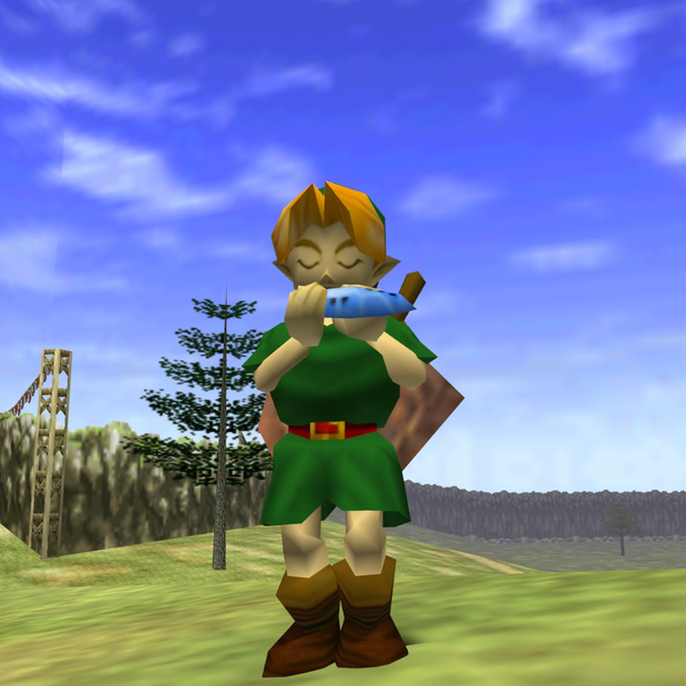 A new Legend of Zelda: Ocarina of Time glitch is a speedrun game