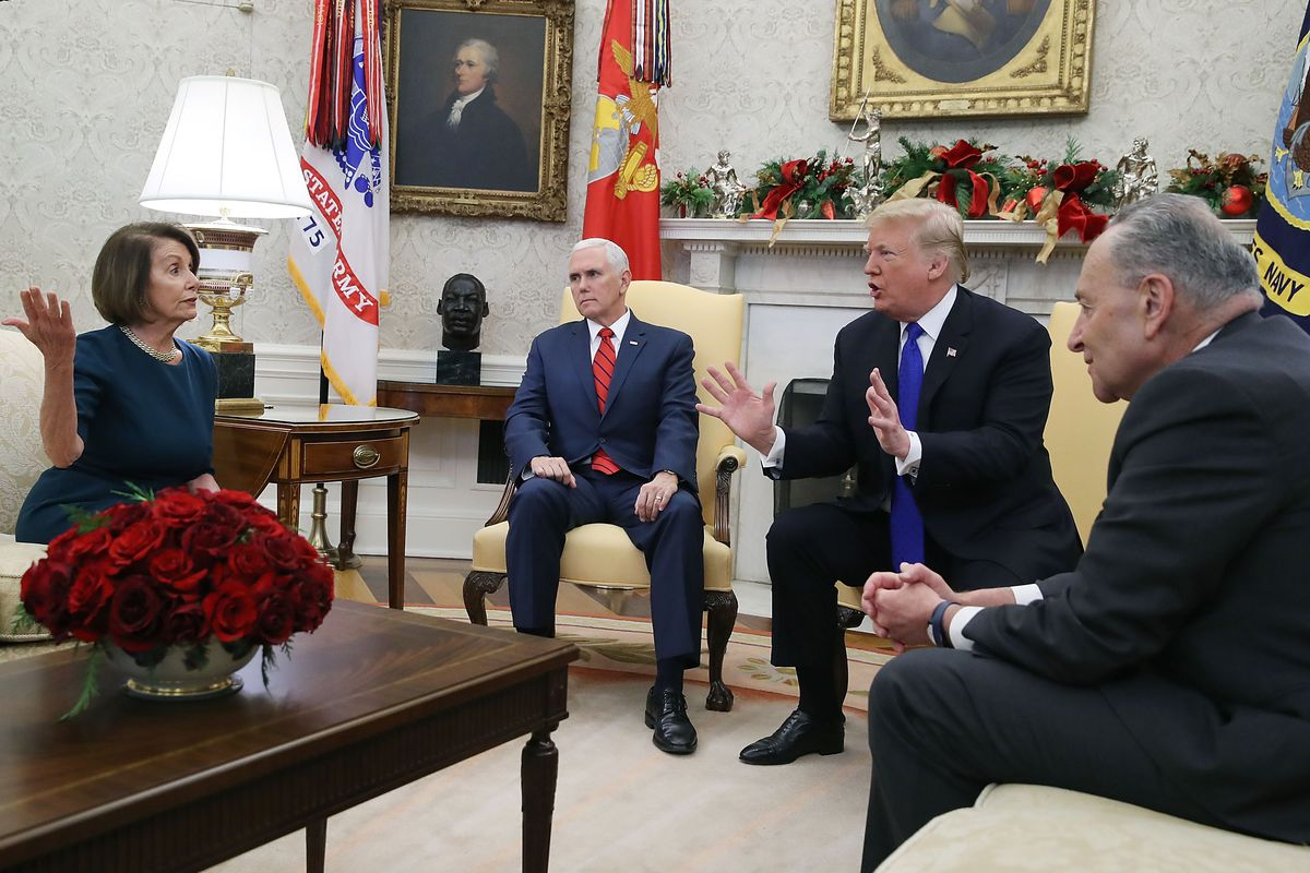 Trump S Fight With Pelosi And Schumer Shows He Doesn T Want