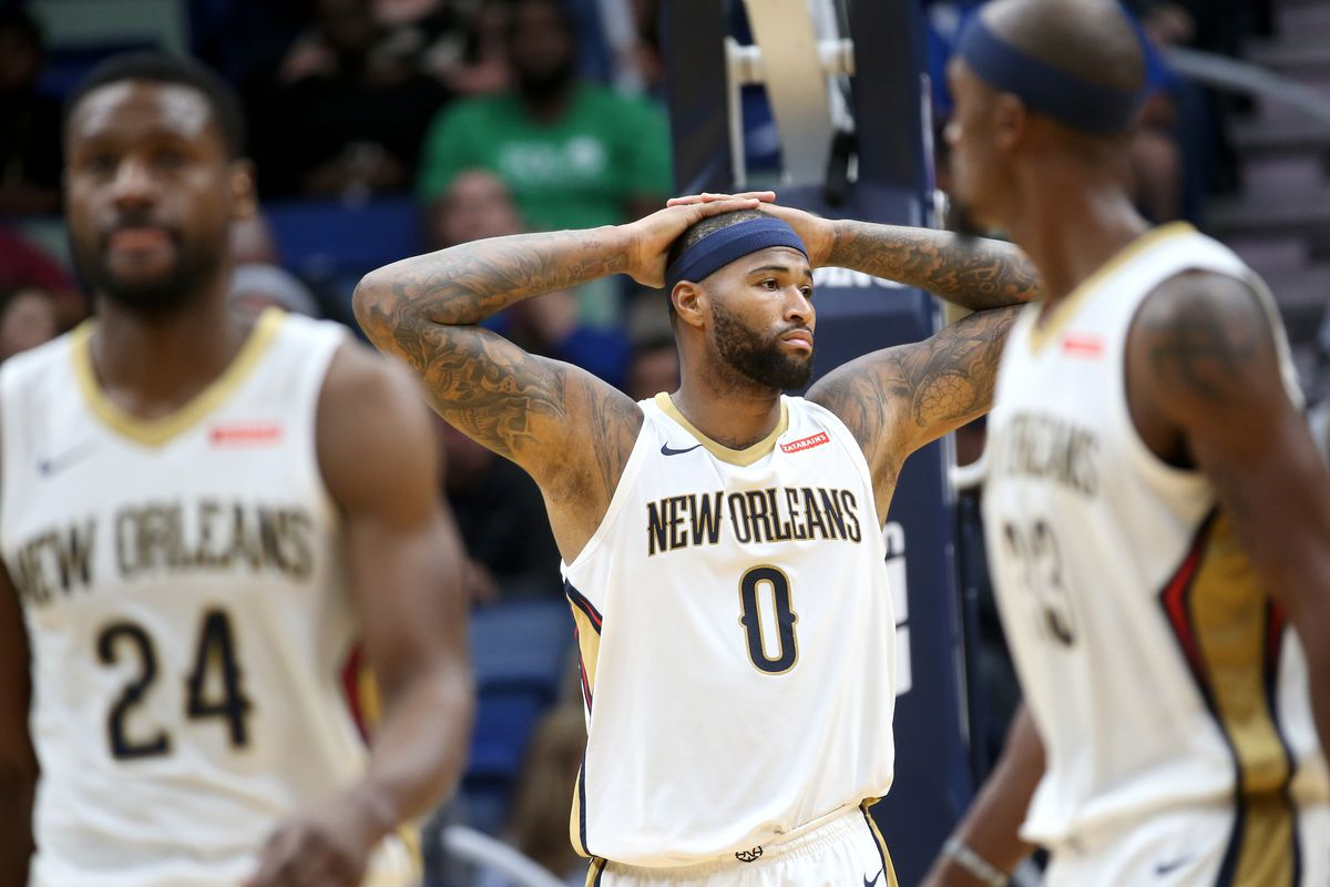 dc0ea913f Not even Boogie Cousins can save the Pelicans from their general manager s  mistakes