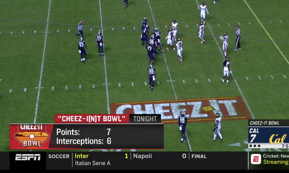 Image result for cheez it bowl box score