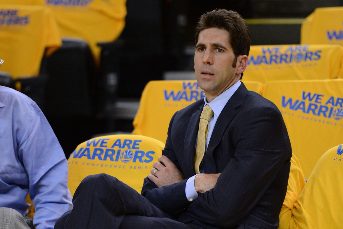 Golden State Warriors general manager Bob Myers is working on locking up that Executive of the Year award early this season.