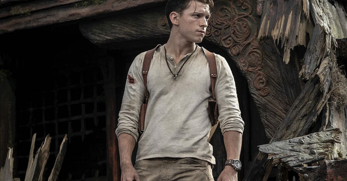 Tom Holland's Nathan Drake revealed in first photo from the long-in-development Uncharted movie - The Verge