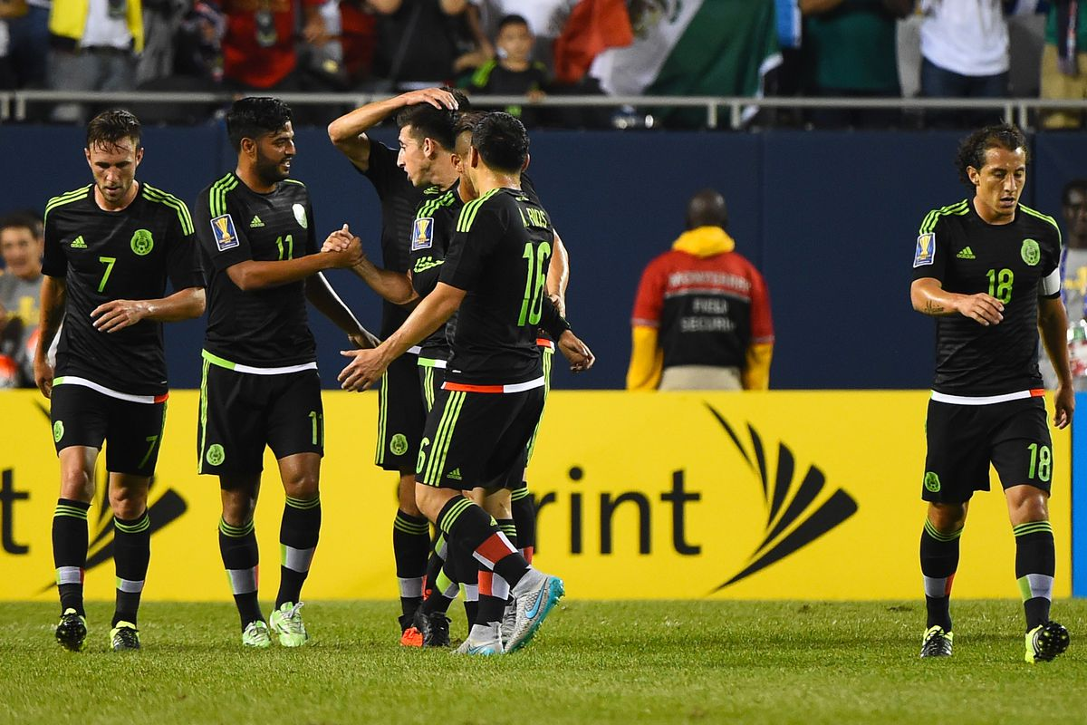 Soccer: Gold Cup-Mexico at Cuba