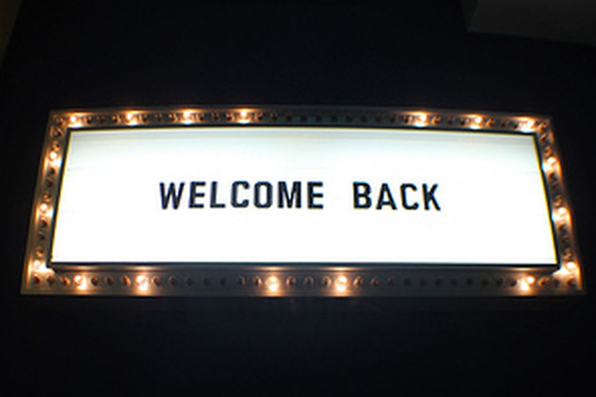 Welcome back, now gimme!