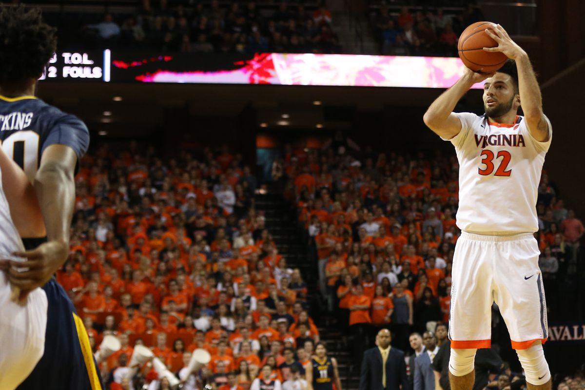 NCAA Basketball: West Virginia at Virginia