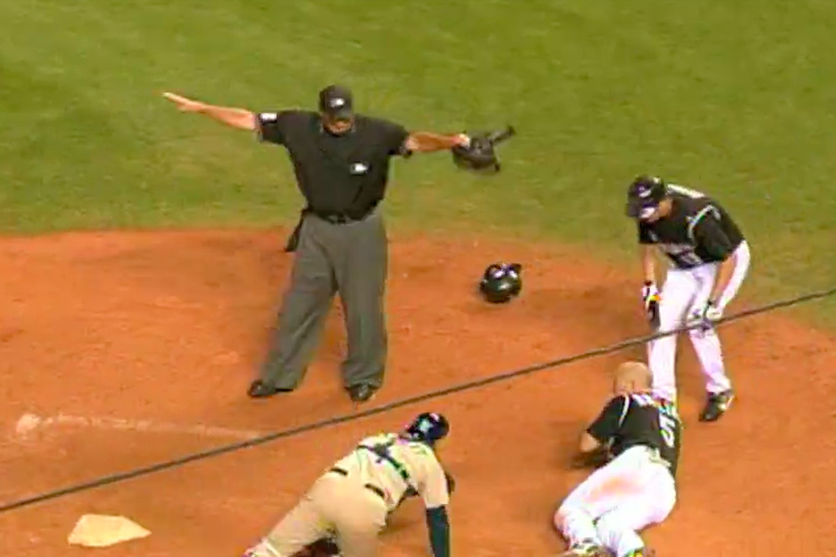 4da20d3d746 Matt Holliday didn t touch home plate in 2007 s Rockies-Padres Game ...