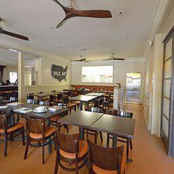The main dining room at Pax Americana