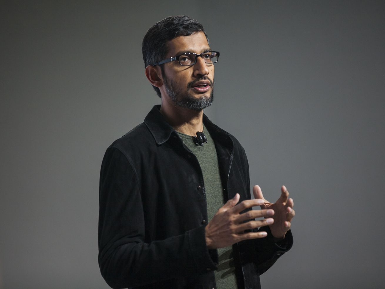 Google CEO Sundar Pichai has a beard, but facial hair restrictions at work affect many men of color.