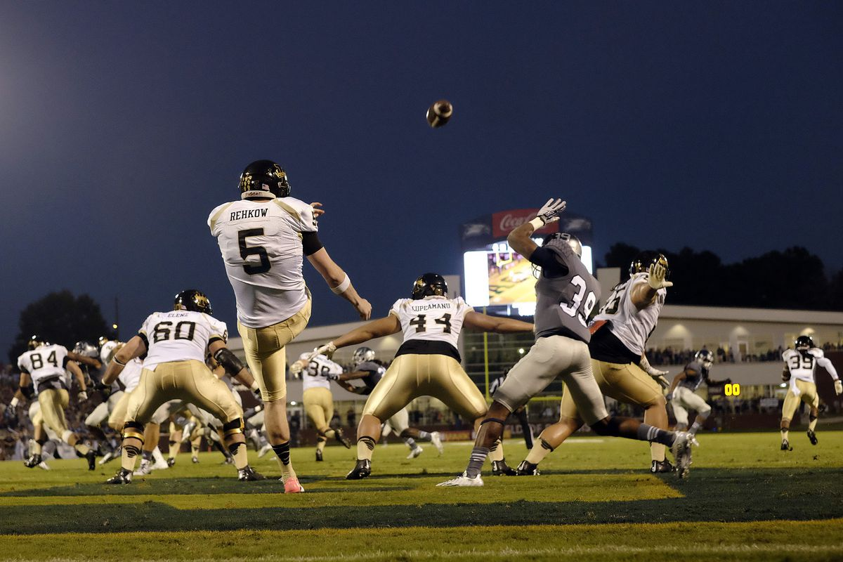Austin Rehkow of the Idaho Vandals looks to bring punting glory to the Underdogs.