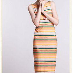 "<a href=""http://us.anthropologie.com/anthro/catalog/productdetail.jsp?id=25793472&parentid=CLOTHES-MIK-21&navCount=104&navAction=jump""><b>Mia Christopher</b> Color Spectrum Midi Dress</a>, $138</a>"