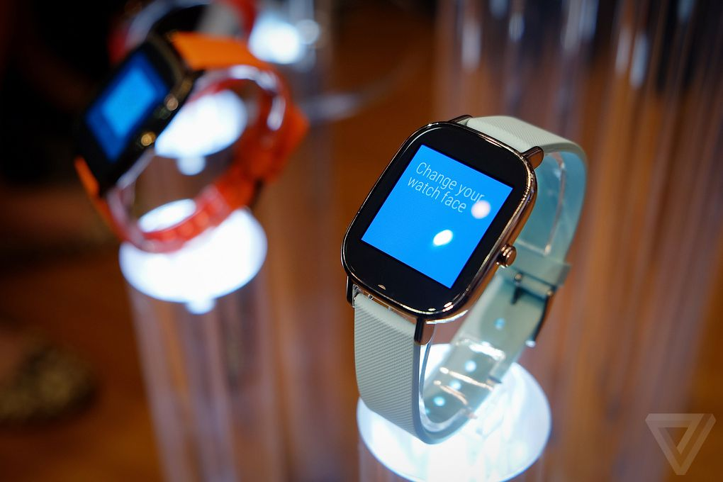Asus brings a choice of sizes to Android Wear with ...