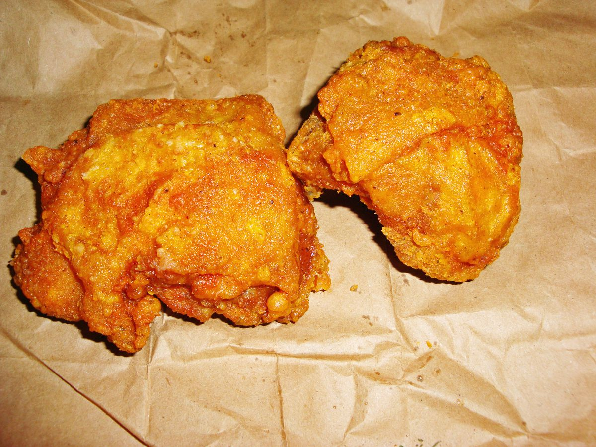 Yafa's fabled fried chicken
