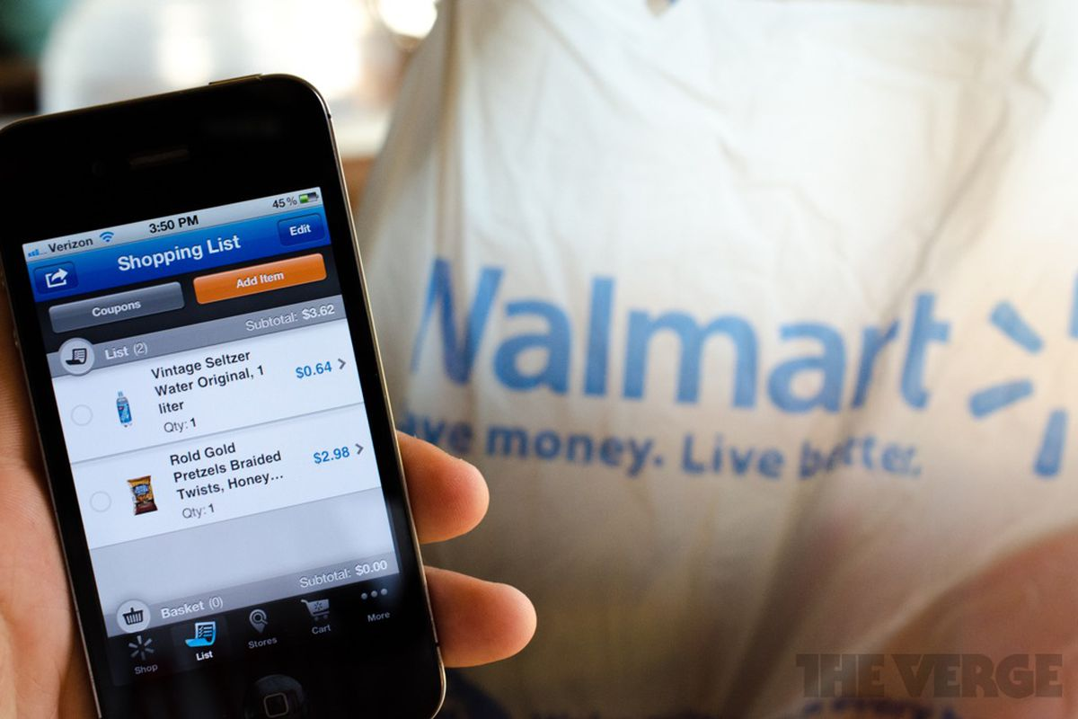 Walmart now lets customers pay with its app at many stores