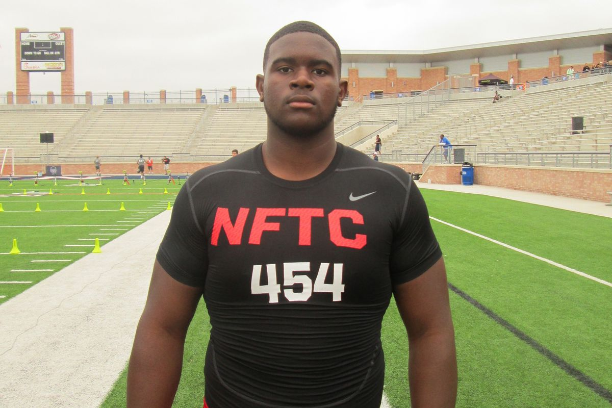 Toby Weathersby at the 2013 Dallas NFTC